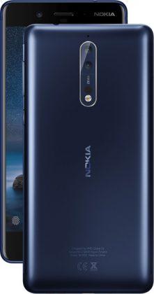 Nokia 8, karkaistu sininen.