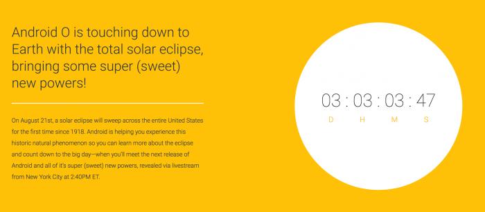 Google pohjustaa maanantaina luvassa olevaa Android O -julkaisua.