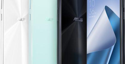 ZenFone 4 tulee myyntiin eri värivaihtoehtoina.