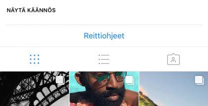 Applen Instagram-profiili.