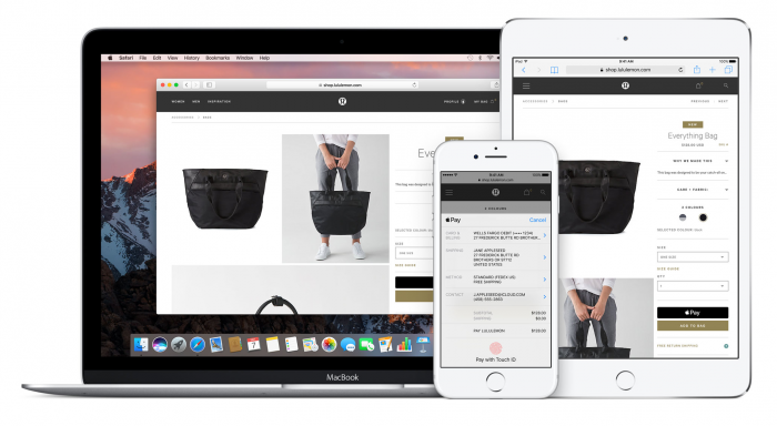 Apple Paylla voi maksaa myös sovelluksissa ja verkkosivuilla.
