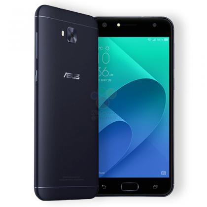 Musta Asus ZenFone 4 Selfie.