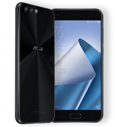 Musta Asus ZenFone 4.