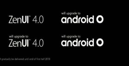 Asus lupaa päivittää puhelimensa Android O:hon.