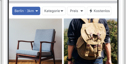 Facebook Marketplace laajenee Eurooppaan.