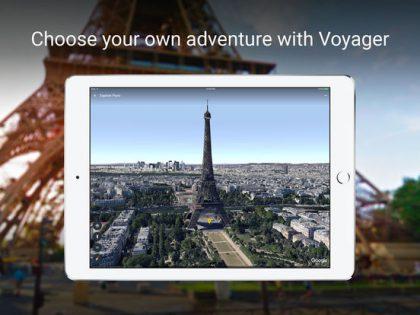 Google Earth saa muun muassa Voyager-toiminnon.