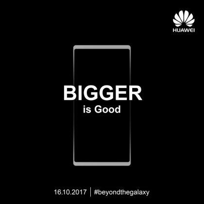 Huawei itsekin on luvannut suurta uutuutta.