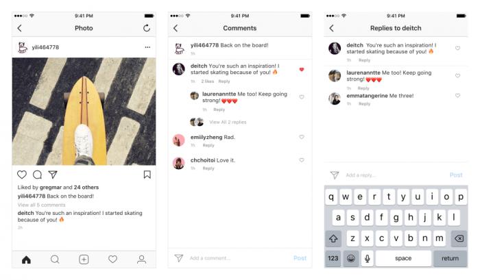 Instagram uudistaa jälleen kommentointia.