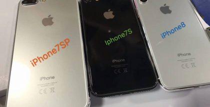 Vuoden 2017 iPhone-mallisto.