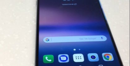 LG V30 uudessa vuotokuvassa.