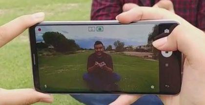 Kameraan on panostettu V30:ssa.