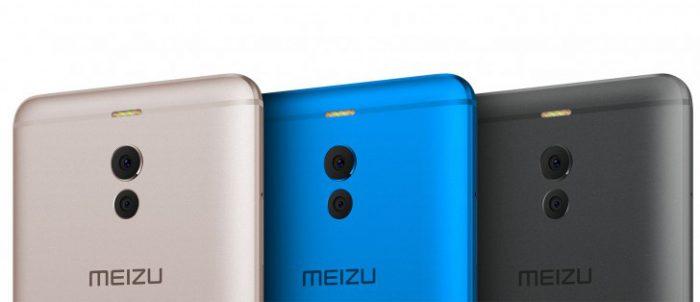 Meizu M6 Noten eri värivaihtoehtoja.