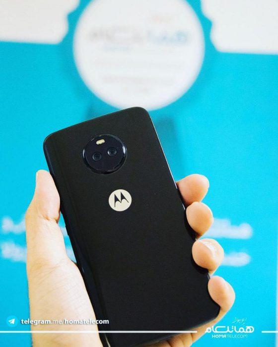 Moto X4 sisältää takana kaksoiskameran.