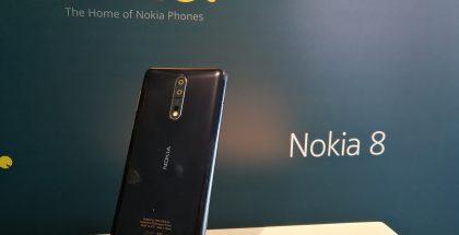 HMD:n päivän uutuus on huippupuhelin Nokia 8.