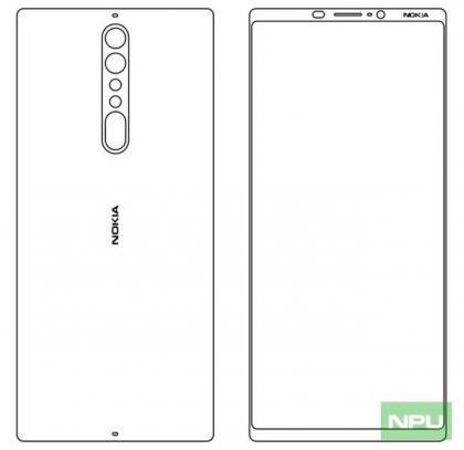 Nokiapoweruser-sivuston mukaan Nokia 9:stä voisi tulla tällainen.