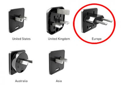 Ongelma koskee eurooppalaista pistoketta.