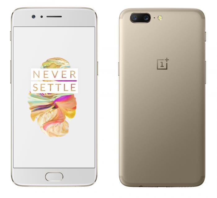 Aiempi OnePlus 5 Soft Gold.