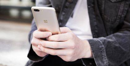 OnePlus 5 saa uuden kultaisen värin.