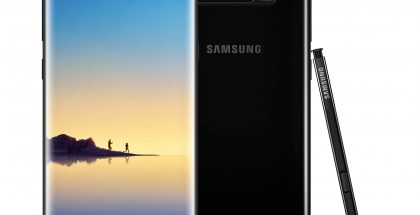 Samsung Galaxy Note8 Midnight Black.