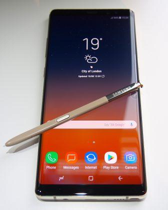 S Pen on edelleen Note-erikoisuus.