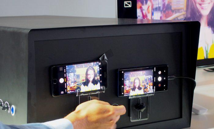 Samsung vertasi ennakkotilaisuudessaan Galaxy Note8:aa Applen iPhone 7 Plussaan.