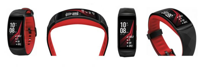 Samsung Gear Fit2 Pro. Evan Blassin julkaisema kuva.