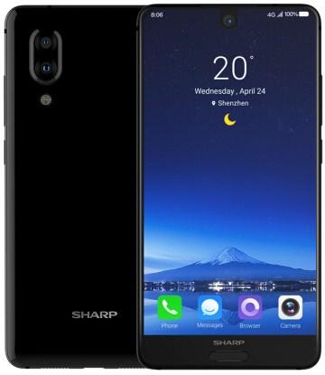 Sharp Aquos S2 tulee näyttävällä 5,5 tuuman näytöllä.