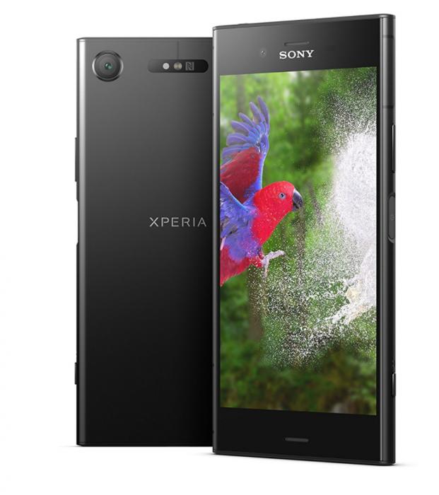 Sony Xperia XZ1 mustana.