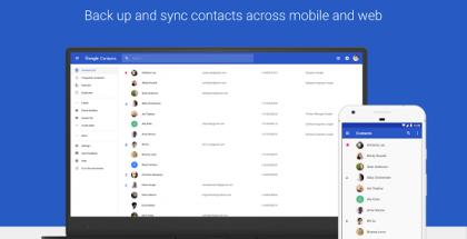 Google Contacts Yhteystiedot