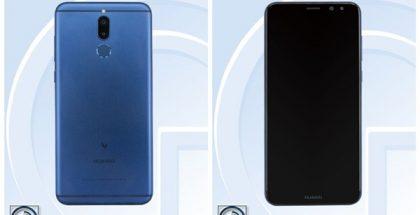 Väitetty Huawei Mate 10 Lite.