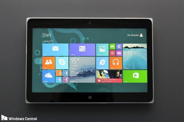 Peruttu Lumia 2020. Kuva Zac Bowden / Windows Central.