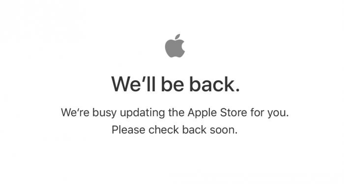 Apple kauppa sulkeutui illan uutuuksien alla.