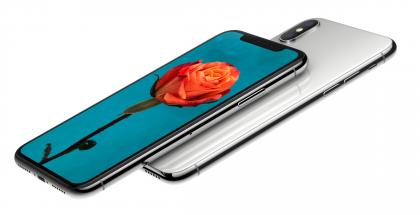 iPhone X on ensimmäinen OLED-näytöllä varustettu iPhone.