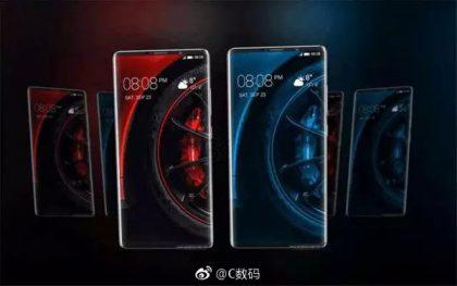 Väitetty Huawei Mate 10 Pro.