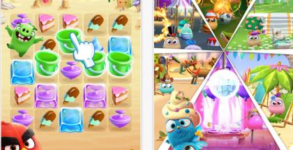 Angry Birds Match on yksinkertainen yhdistelypeli.