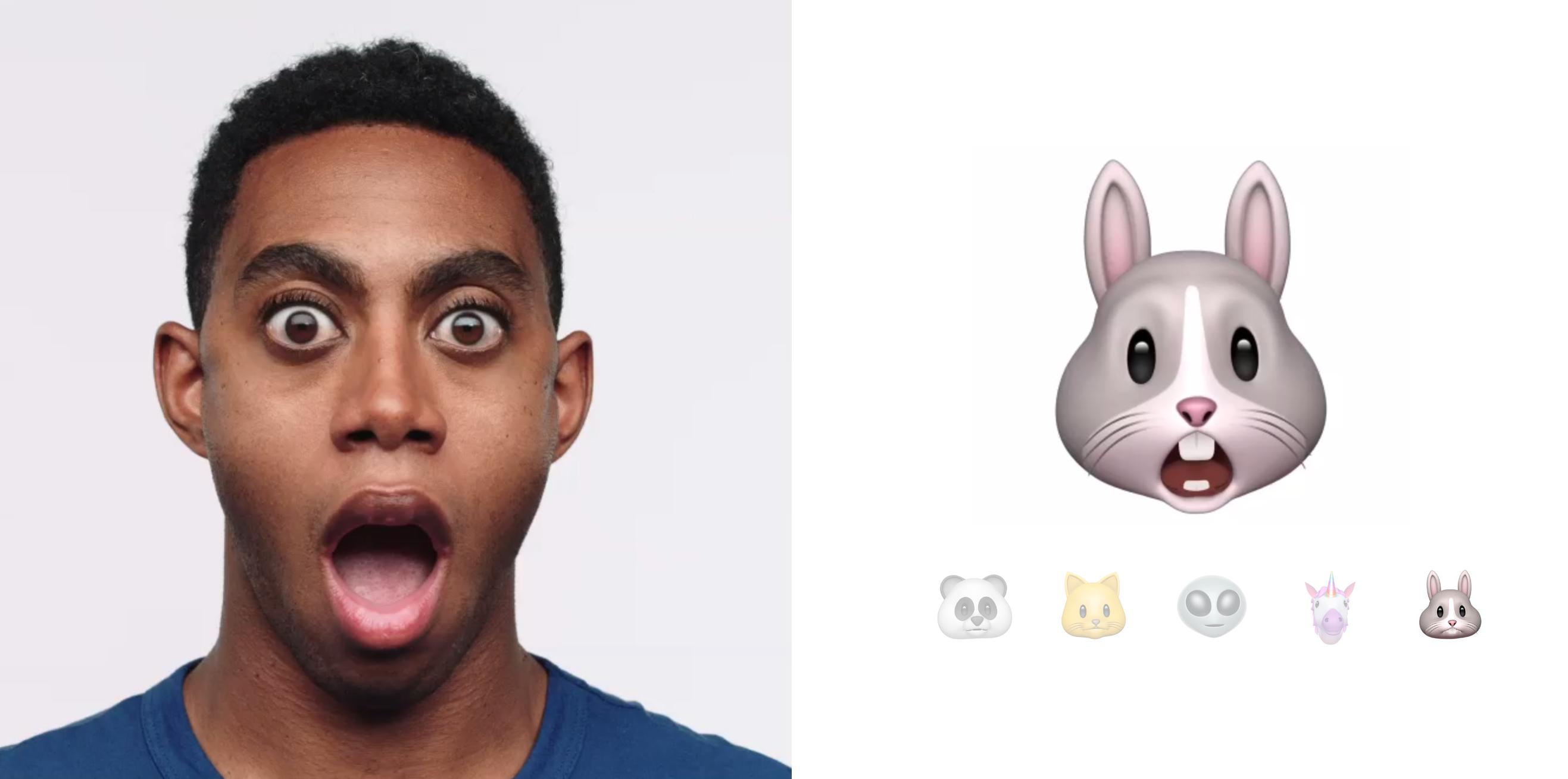 Animojit toimivat iPhone X:n etukameralla ja iMessage-viesteissä.