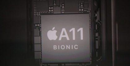 Uusista iPhoneista löytyvä Apple A11 Bionic -järjestelmäpiiri toi mukaan Applen suunnitteleman grafiikkasuorittimen.