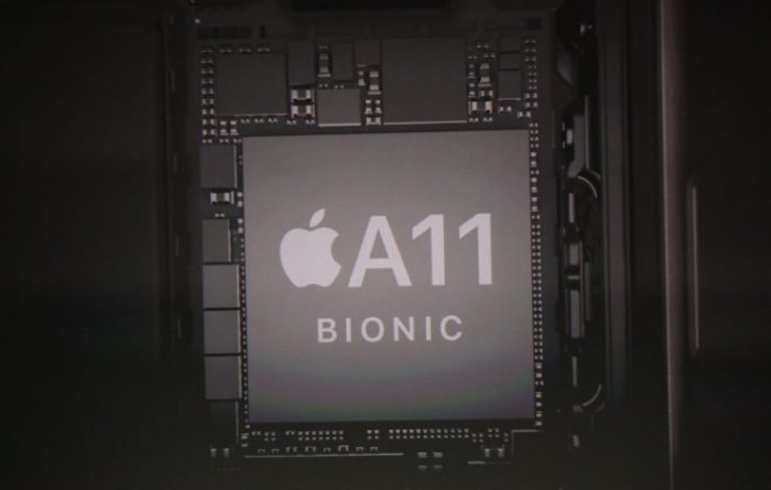 Apple A11 Bionic -järjestelmäpiiri.