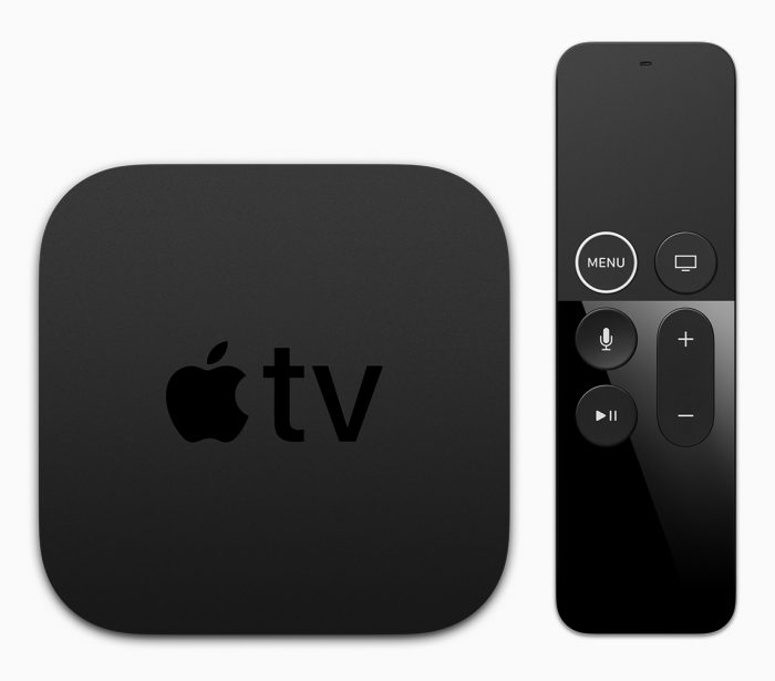 Nykyinen Apple TV 4K.