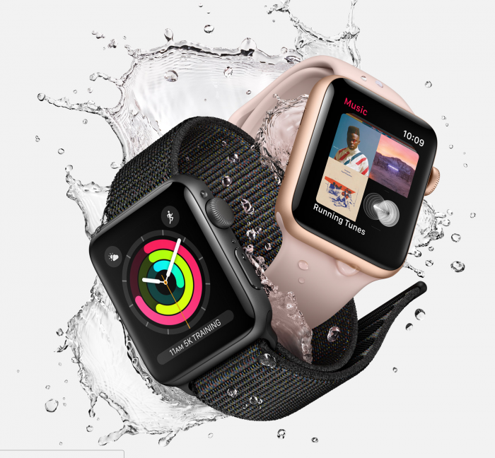 Suomessa on tyytyminen Apple Watch Series 3:n perusversioon.