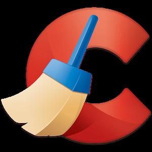 CCleaner logo.