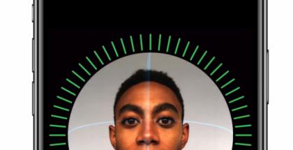 Face ID:n käyttöönotto.