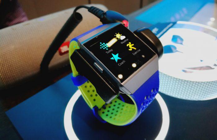 Fitbit Ionicin sovellusvalikko.