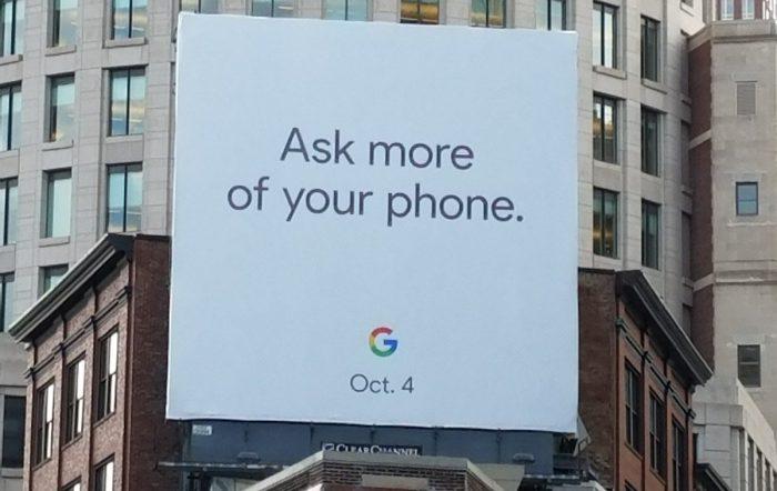 Google mainos povaa tulevaa Pixel-julkistusta.