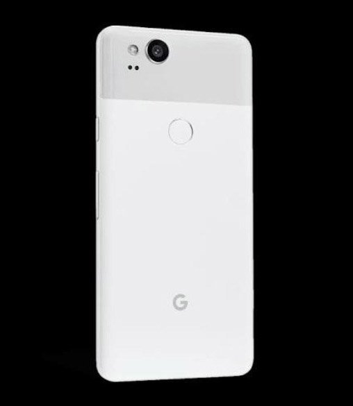 Pixel 2 Clearly White.