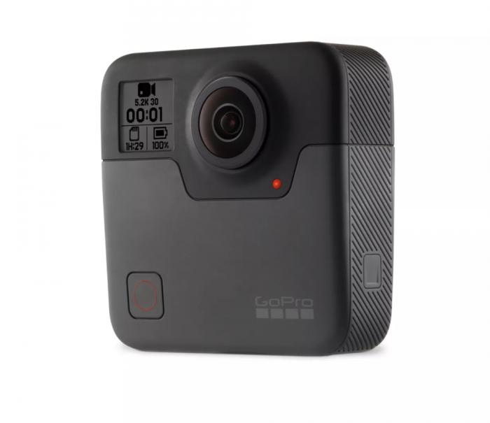 GoPro Fusion 360.