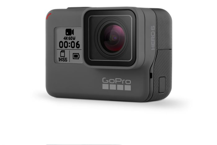 GoPro Hero6 Black.