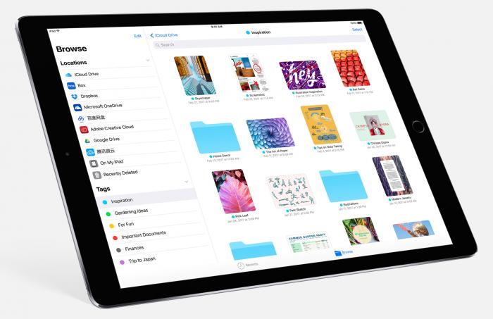 iOS 11 toi uuden Tiedostot-sovelluksen.