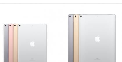iPad Pro -värivaihtoehdot.