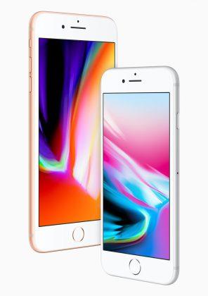 iPhone 8 Plus ja iPhone 8.